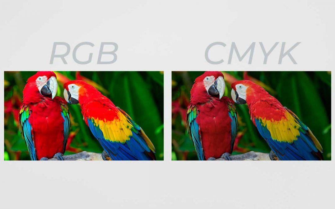 ¿Cuándo utilizar colores RGB y CMYK?