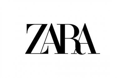ZARA Presenta nuevo logotipo.
